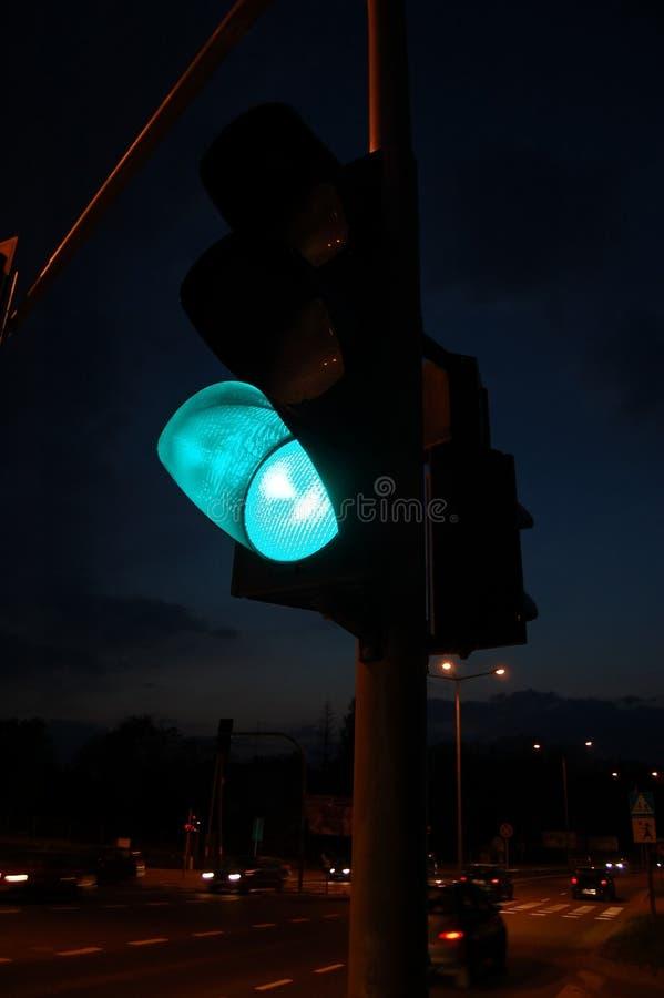 Free Green Traffic Light Royalty Free Stock Photos - 5003448
