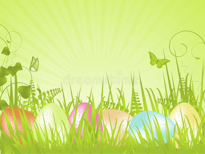 Download Green Tranquil Easter Background Royalty Free Stock Images - Image: 20902409