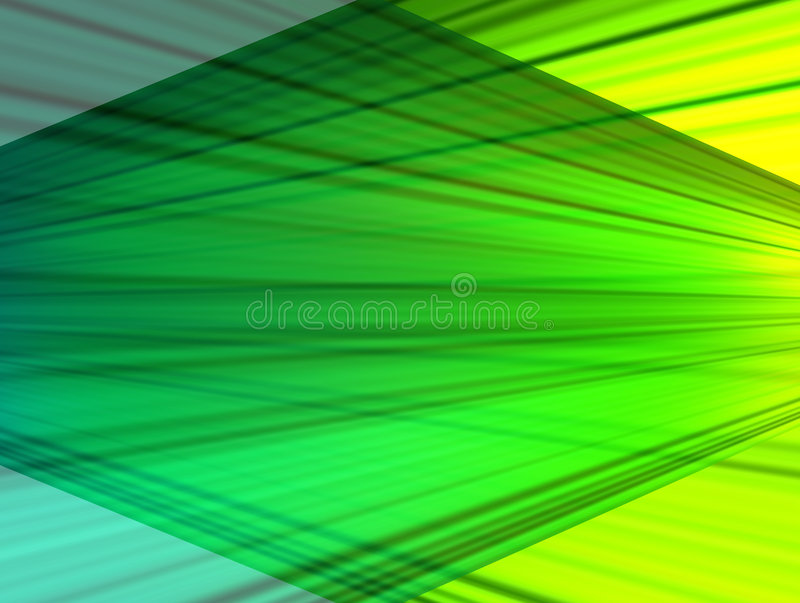 Green transformation royalty free illustration