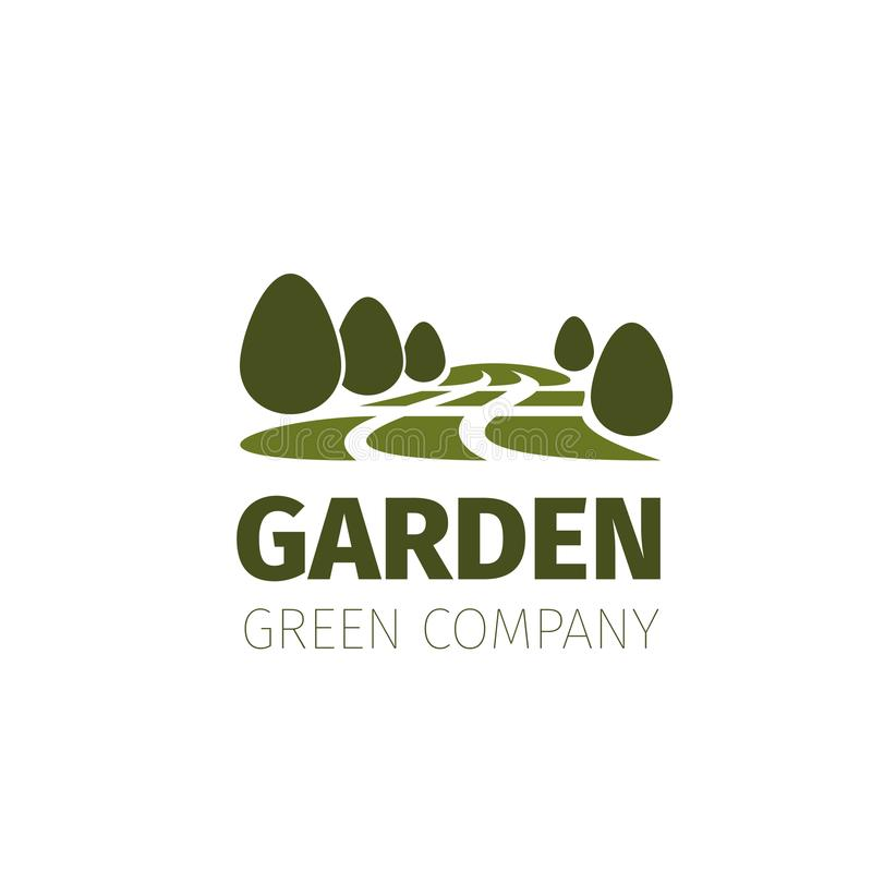 Download Green Trees Forest Or Garden Vector Nature Icon Stock Vector    Illustration Of Emblem,
