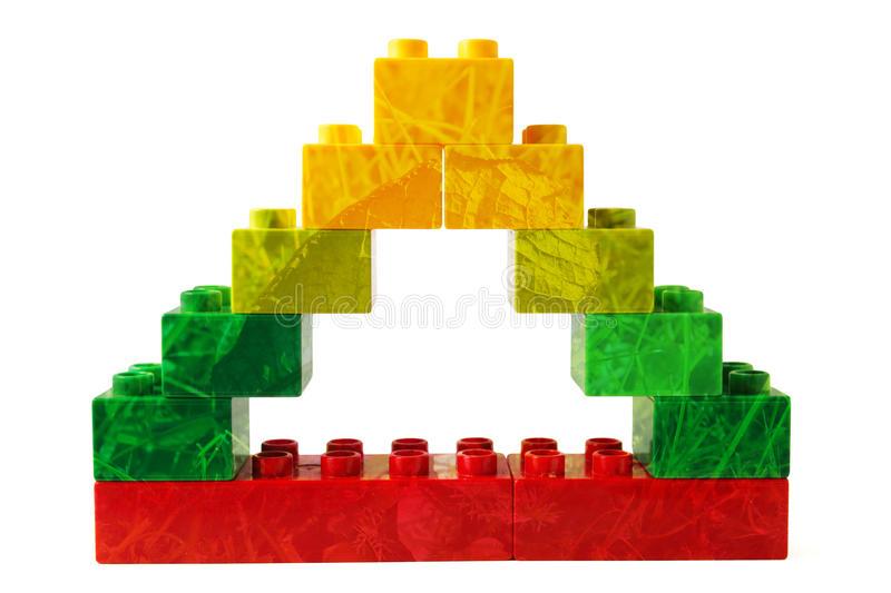 Green Triangle Royalty Free Stock Image