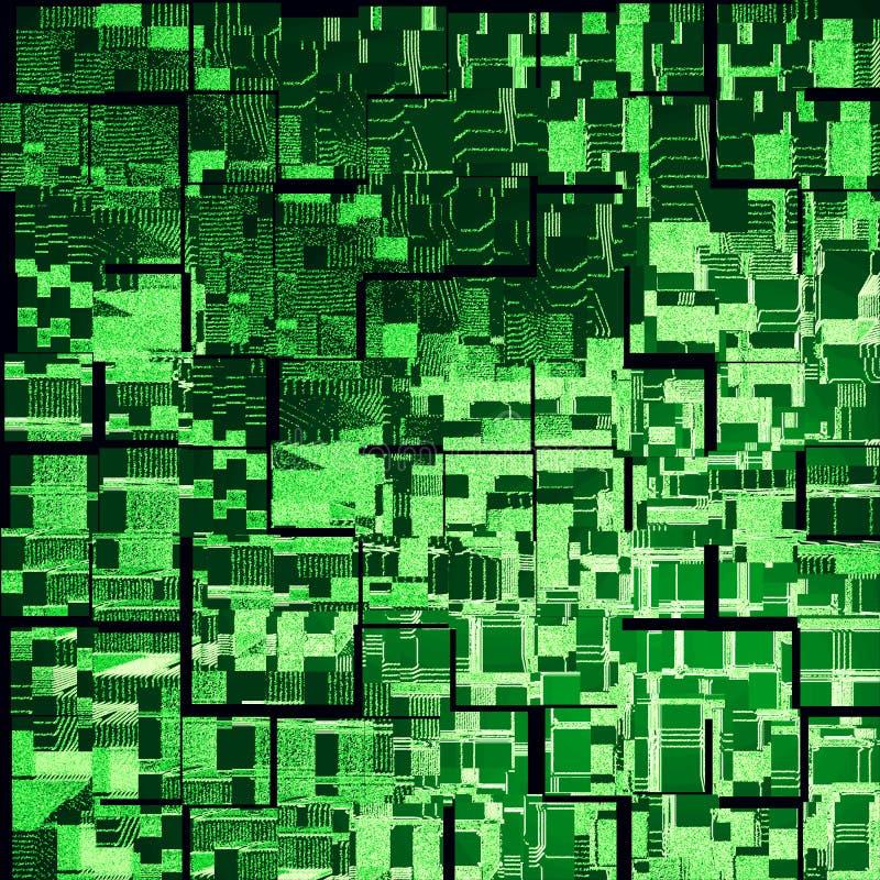 Download Green urbanism luminous stock illustration. Image of illustration - 13031496