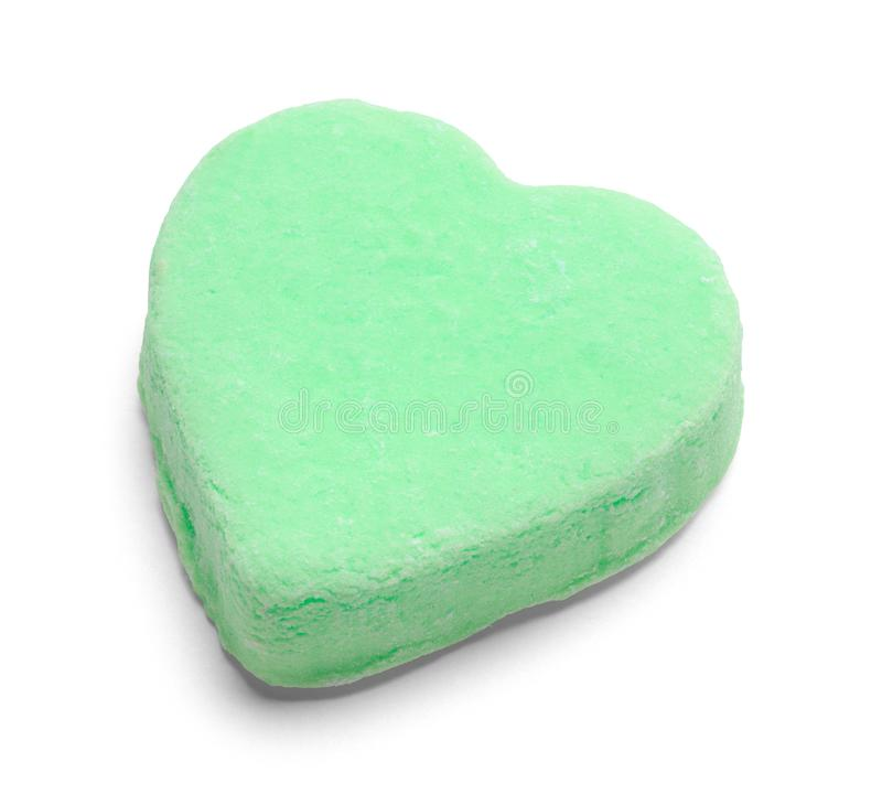 Free Green Valentines Candy Heart Stock Photo - 153390010