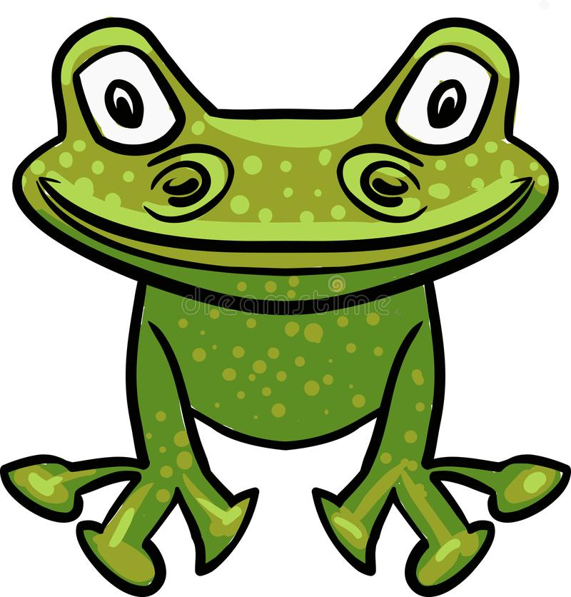 green vector frog drawing stock vector illustration of company rh dreamstime com vector forge vector programs