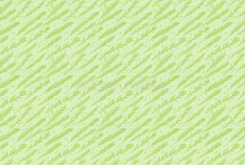Green vector leaves seamless pattern for illustrator stock photography