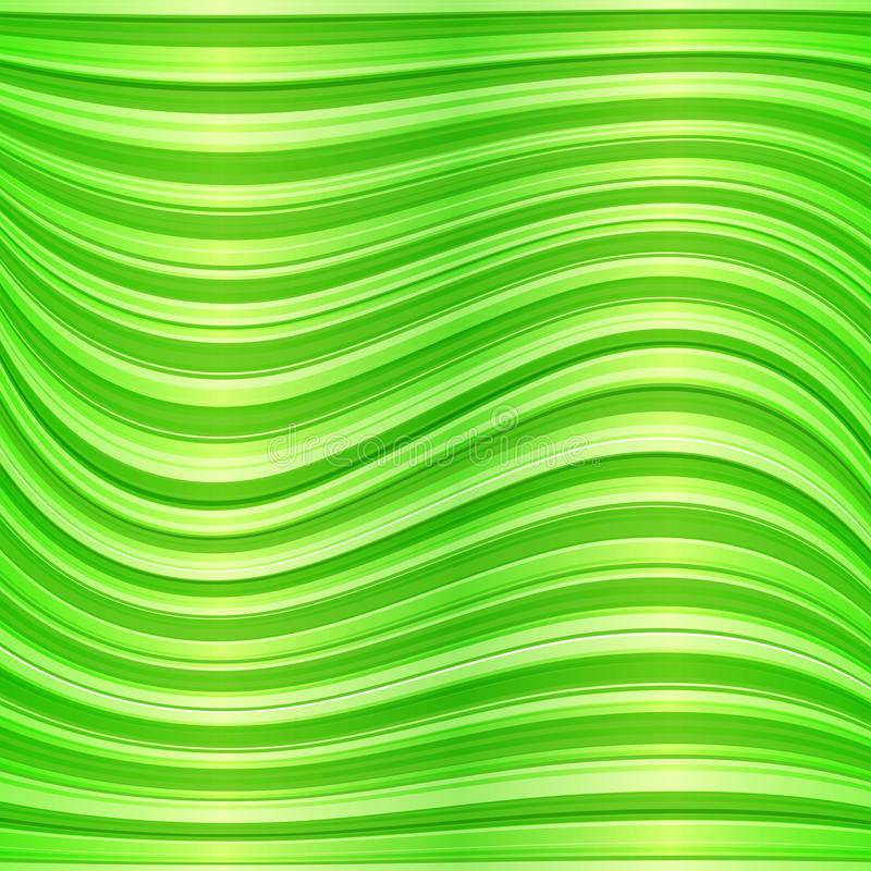 Download Green Vector Wavy Abstract Background Stock Vector - Image: 29170310