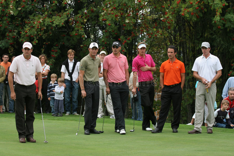 Green Velvet golf pro-am, Megeve, 2006