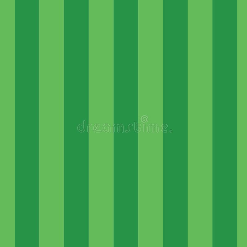 Green vertical stripes seamless vector pattern. Green hues vertical lines repeating background tile royalty free illustration