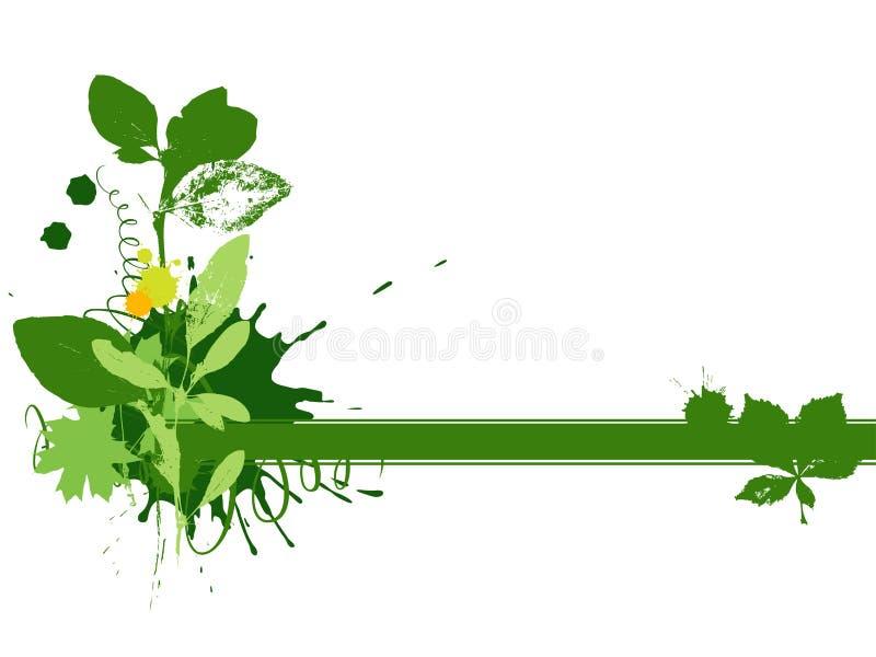 Green_vignette stock abbildung