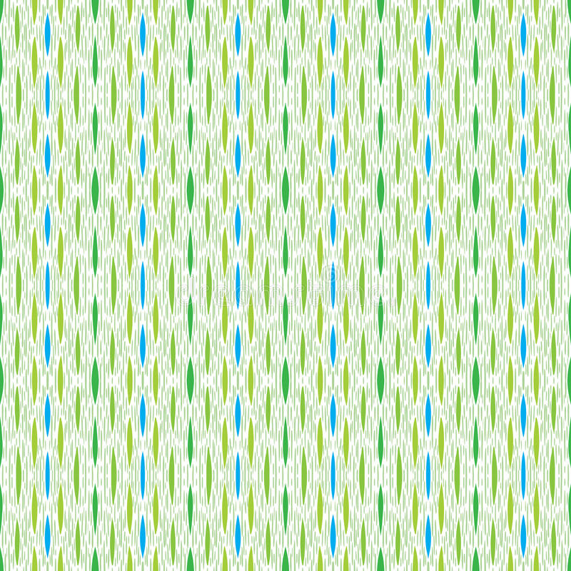 Green Vintage Pattern, Little Strokes And Lines Stock Photos