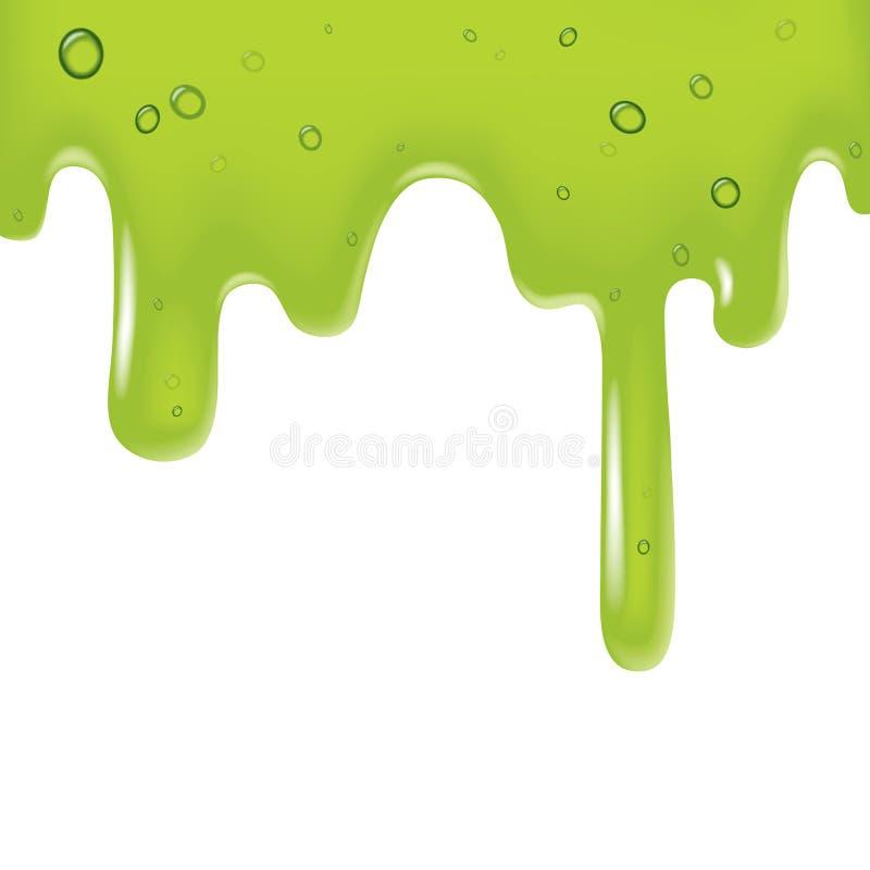 Free Green Viscous Liquid Stock Image - 10166021