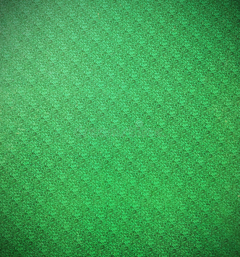 Green wallpaper. Retro green color wallpaper background royalty free stock image