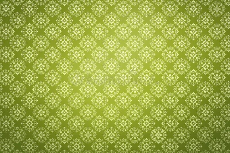 Green wallpaper royalty free illustration