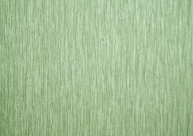 Green wallpaper texture. Green wallpaper for texture or background royalty free stock photo