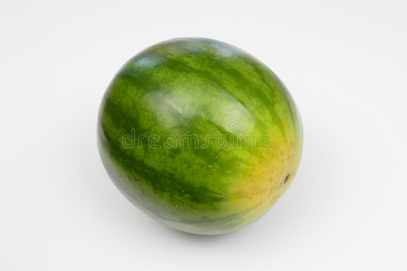 Green water melon royalty free stock images