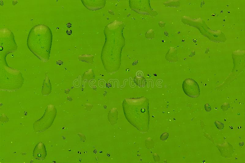Green water splash droplets background with pixel pattern. Water splash droplets background with a pattern of pixels in a green colour royalty free stock photos