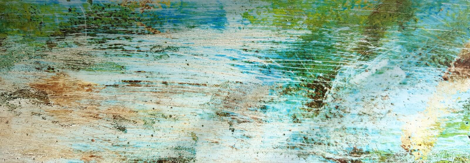 Green, Water, Texture, Painting royalty free stock photo