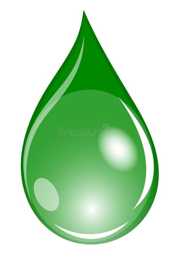 Download Green Waterdrop Royalty Free Stock Photos - Image: 11272778