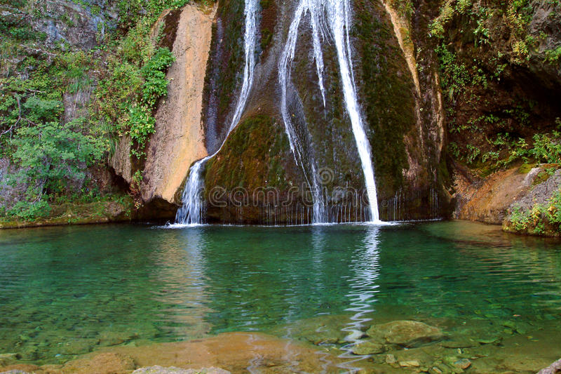 Download Green Waterfall Stock Photo - Image: 26059480
