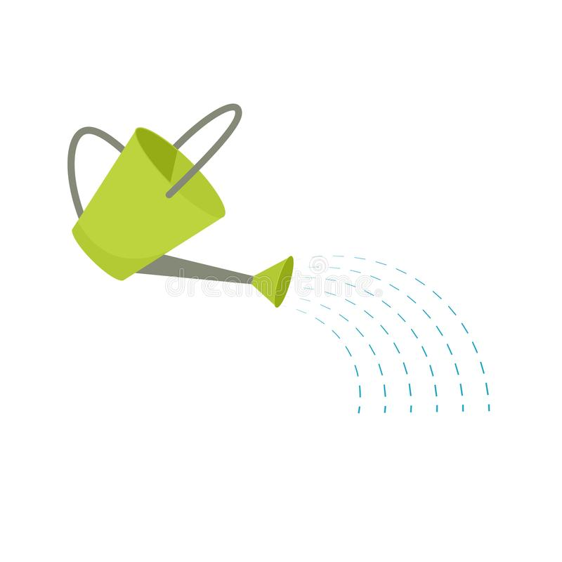 Watering can icon royalty free illustration