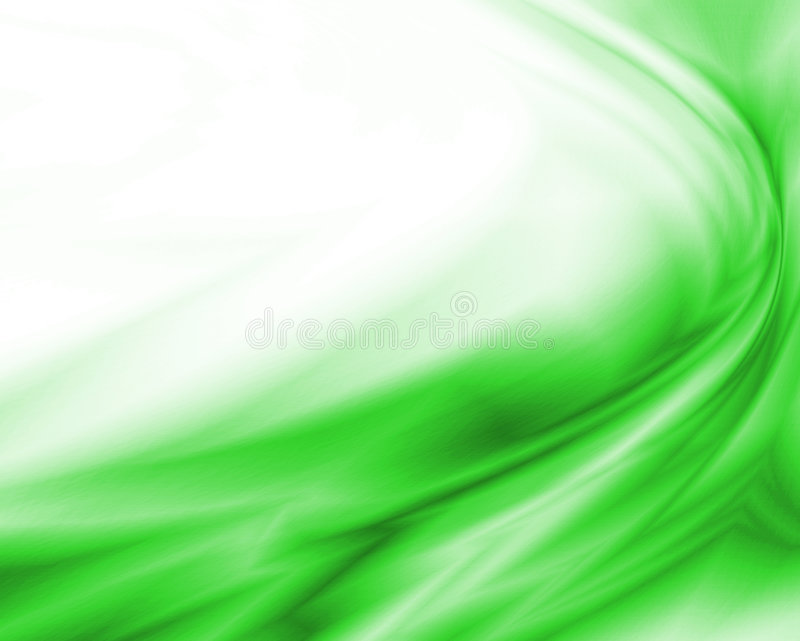 Green wave royalty free illustration
