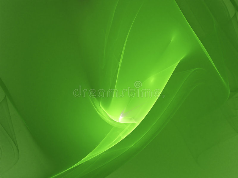 Green wave royalty free stock images
