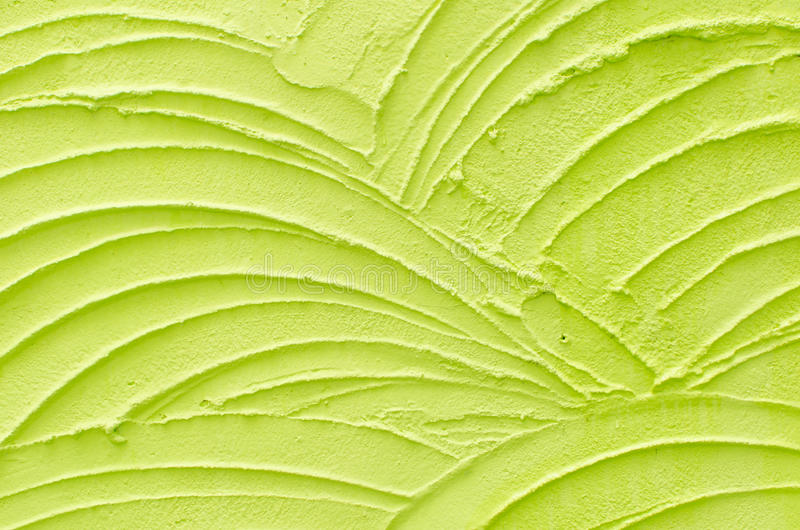 Green wave pattern background stock image