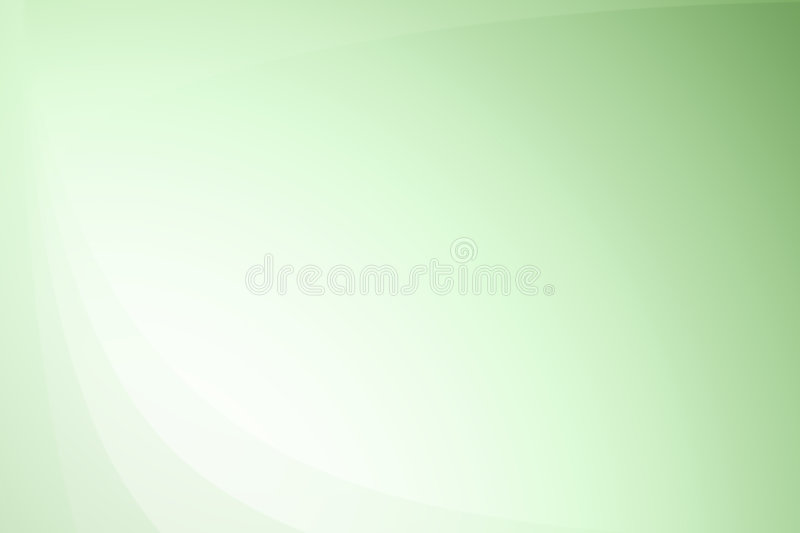 Green wavy abstract gradient background royalty free stock photos