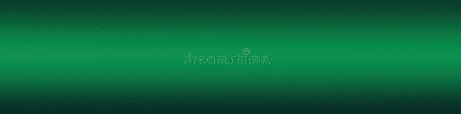 Green web site header or footer background. Abstract design template stock illustration