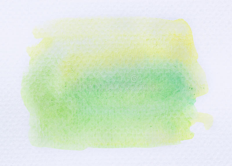 Download Green Watercolor Background Stock Photo