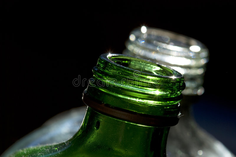 Download Green And White Bottle Stock Image - Image: 7726741