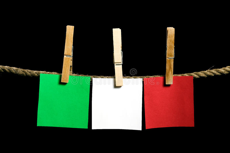 Download Green, White And Red Postit Stock Photo - Image: 26531586