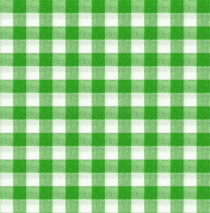 Green and white tablecloth texture wallpaper. Green and white tablecloth italian style texture wallpaper stock image