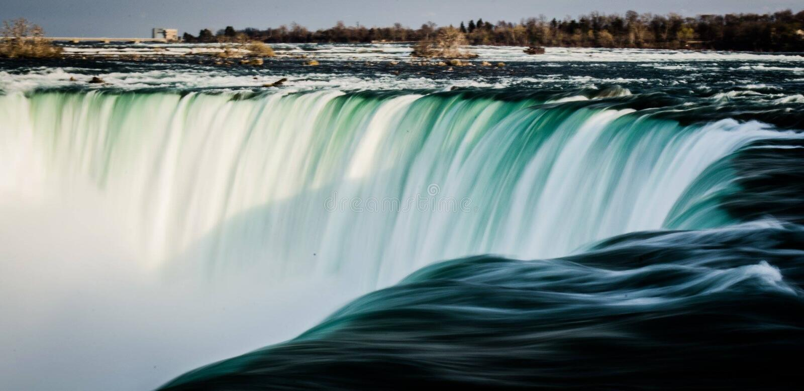 Green White Waterfall During Daytime Free Public Domain Cc0 Image
