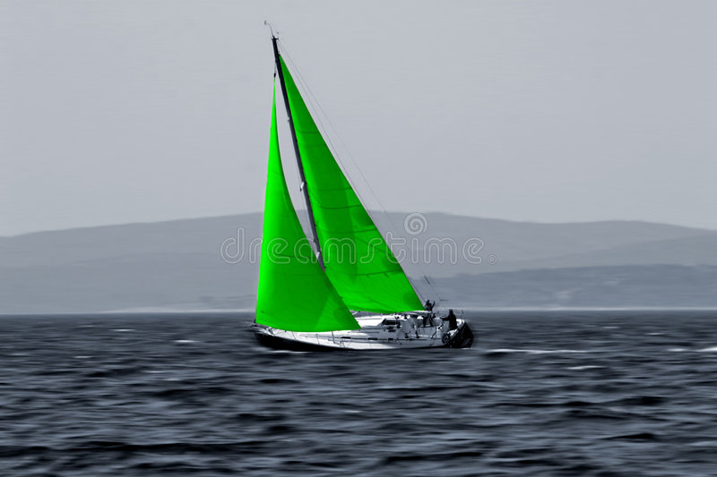 Green Wind energy eco royalty free stock photo
