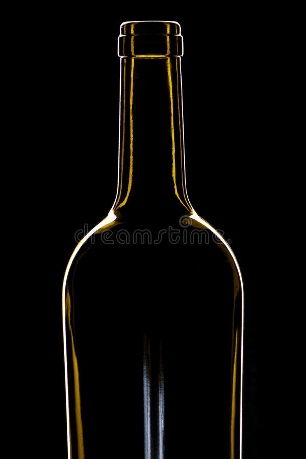 Download Green wine bottle stock photo. Image of curved, dishware - 22610444
