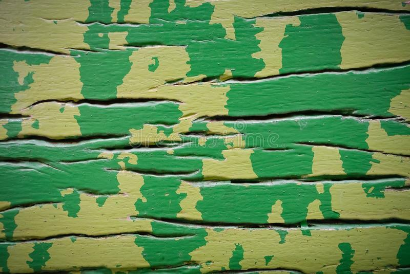Green wood texture. stock photo