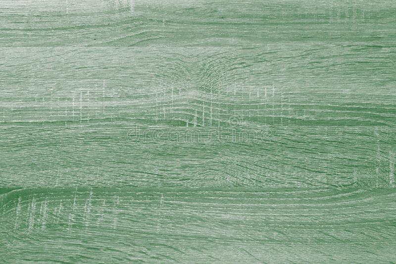 Green wood texture, light wooden abstract background stock images