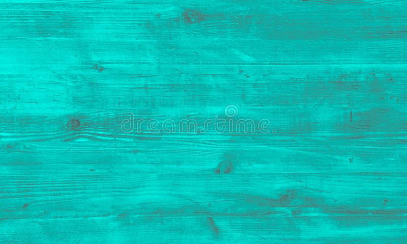 Green wood texture, light wooden abstract background stock photo