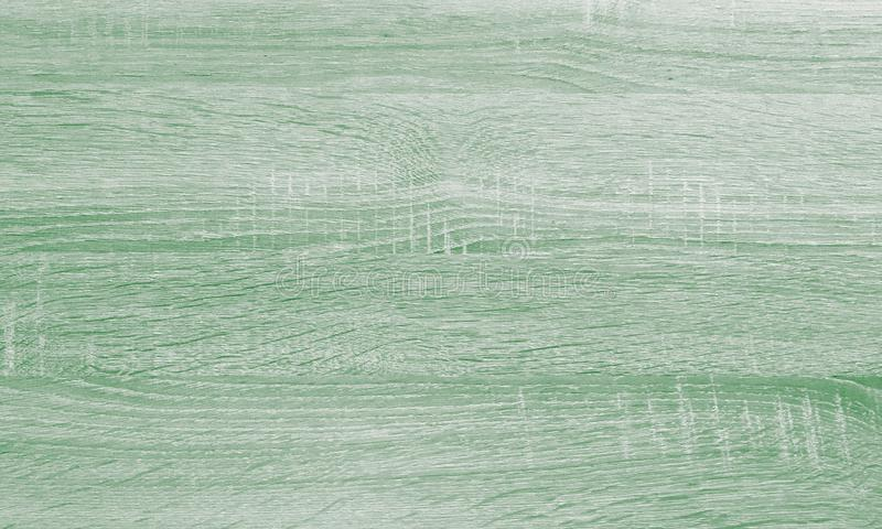 Green wood texture, light wooden abstract background royalty free stock photography