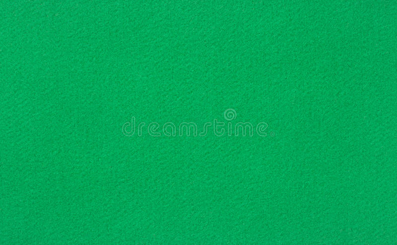 Green woolen baize royalty free stock photography