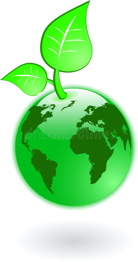 Download Green world stock vector. Image of leaves, group, land - 9782062