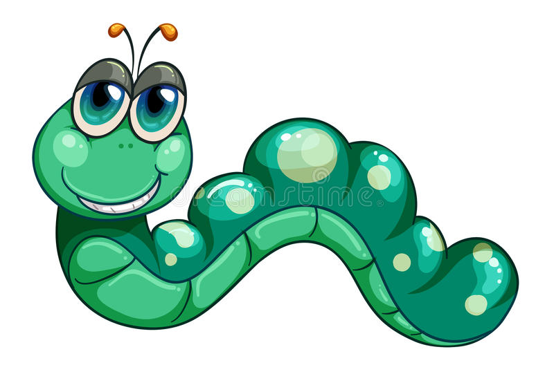 Download A Green Worm Stock Images - Image: 32330764