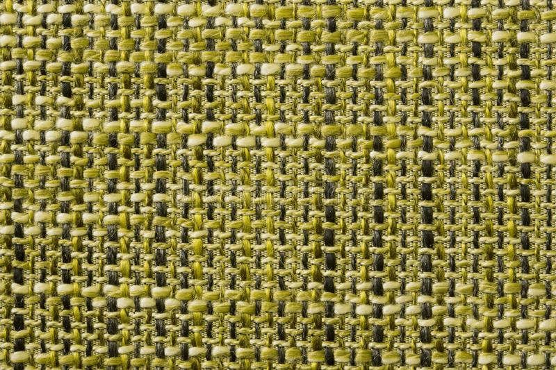 Woven fabric structure , macro. Green woven fabric structure , macro royalty free stock photography