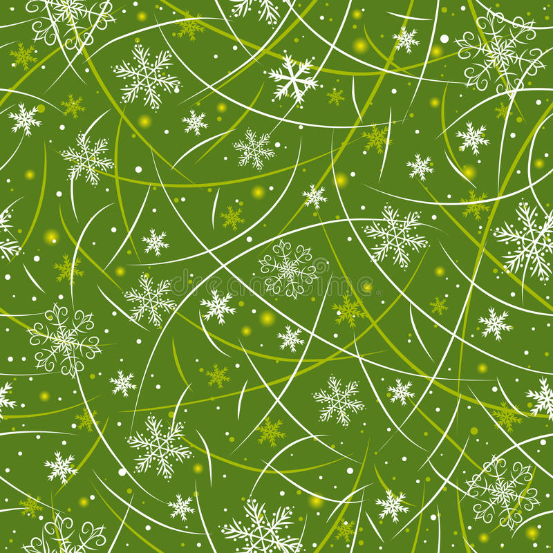 Green wrapping christmas paper,