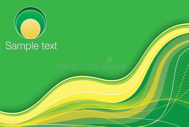 Green-yellow Background Stock Photo