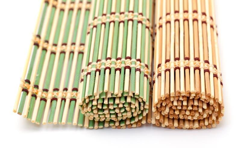 Green And Yellow Bamboo Matt Royalty Free Stock Photos