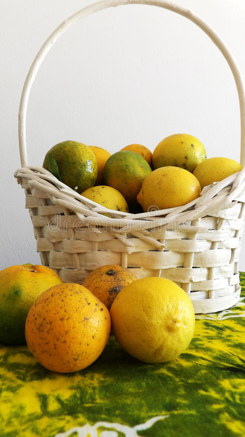 Green and yellow stock image