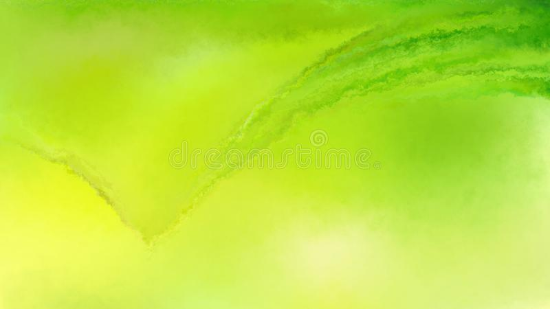 Green and Yellow Distressed Watercolour Background Image Beautiful elegant Illustration graphic art design Background. Image stock illustration