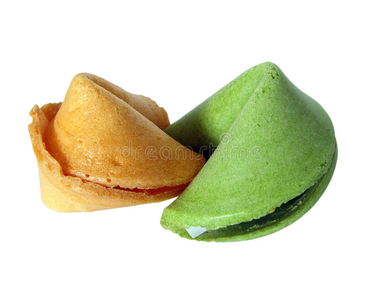 Green And Yellow Fortune stock image